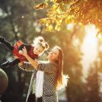 kobieta i dziecko